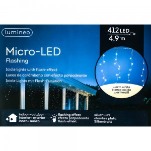 Kurtyna micro 412 led FLASH